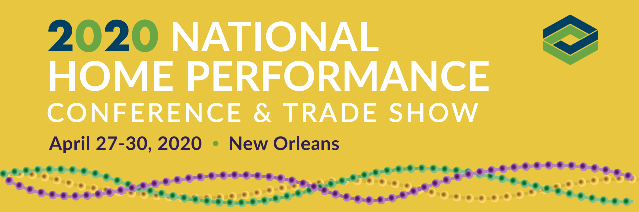 2020 National Home Performance Conference | Building